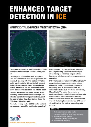 Ice Detection Datasheet