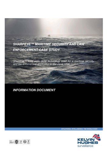 MARITIME SECURITY AND LAW ENFORCEMENT