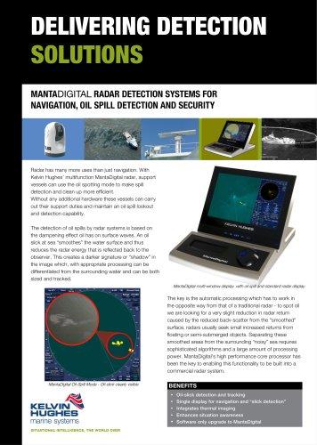 Oil Spill Detection Datasheet