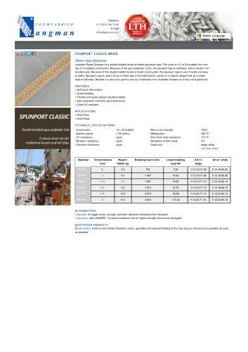 SPUNPORT CLASSIC BRAID