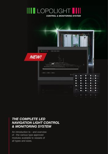 COMPLETE CONTROL & MONITORING SYSTEM For Lopolight LED Navigation Lights
