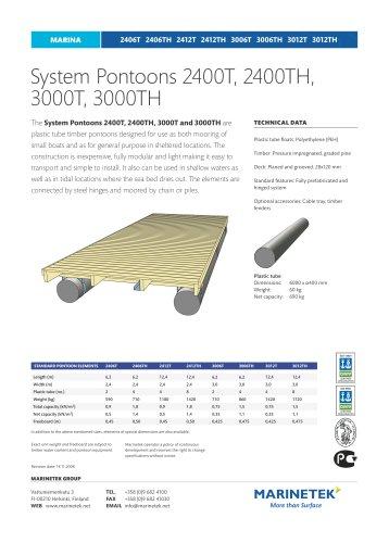 System Pontoon 2400T - 3000TH