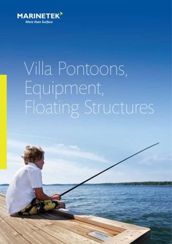 Villa Pontoons, Equipment, Floating Structures