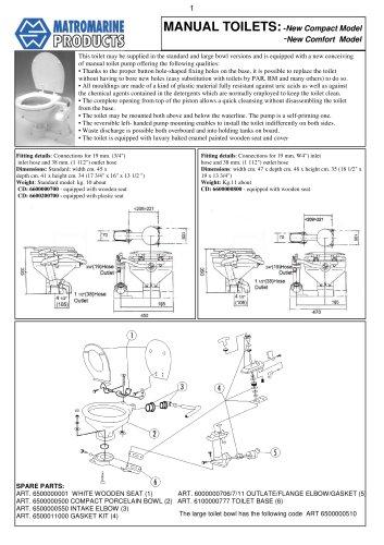 manual toilet 99