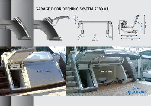 Garage door opening system 2680.01