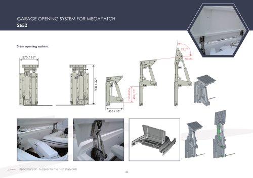 GARAGE OPENING SYSTEM FOR MEGAYATCH 2652