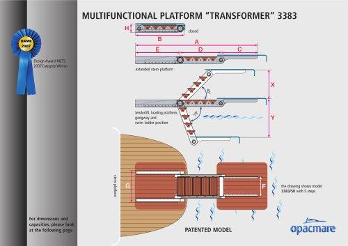 MULTIFUNCTIONAL PLATFORM ?TRANSFORMER? 3383