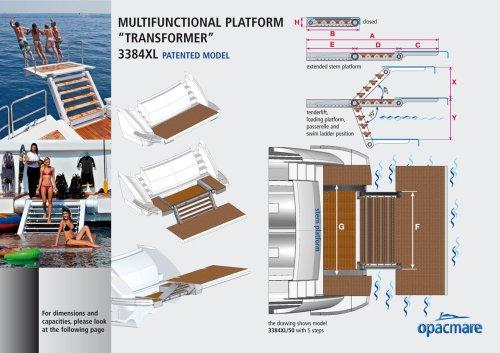 multifunctional platform transformer 3384 XL