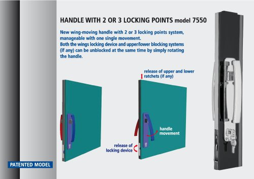 new handle 7550