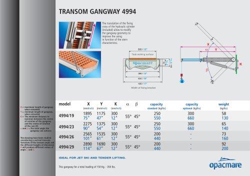 passerelle model 4994