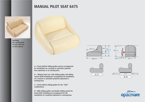 seat model 6475