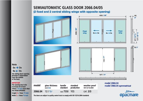 semi-automatic side door 2066.04_05