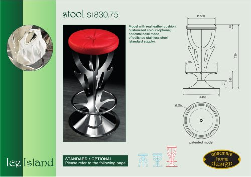stool model SI 830.75