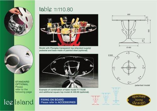 table model TI 110.80