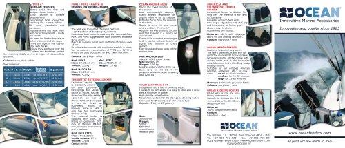 OCEAN Catalogue 2010