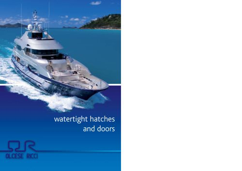 Watertight Flush Hatches and Doors