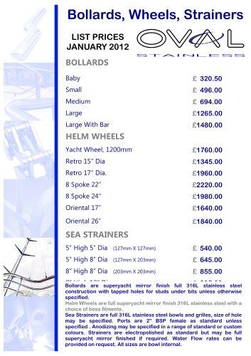 Bollards wheels price