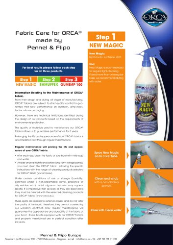 Fabric Care for ORCA®