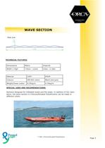 ORCA® Rubrail / Wave Section