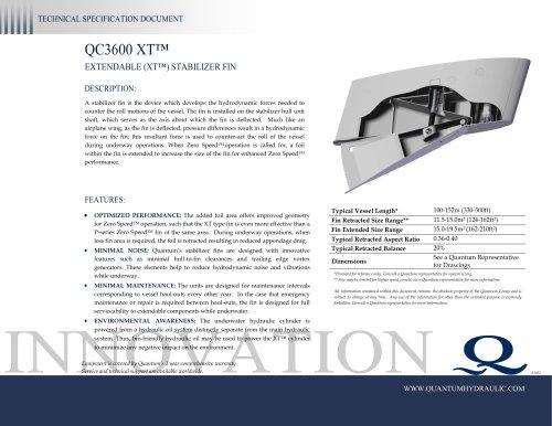 QC3600 XT™