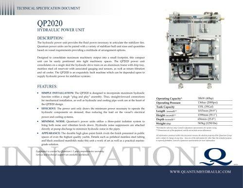 Quantum HPU QP2020