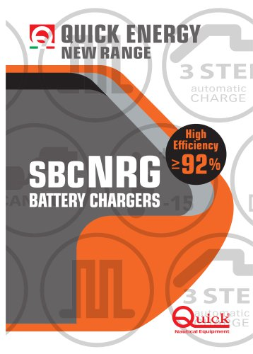 Battery charger SBC NRG series