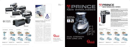 PRINCE New windlass series