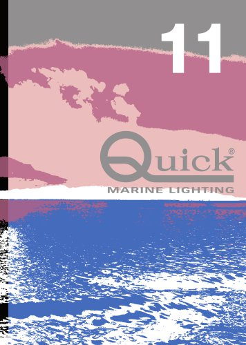 QUICK MARINE LIGHTING CATALOGUE 2016
