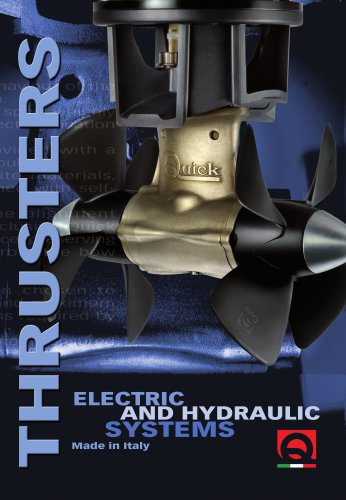 Thruster Electric and Hydraulic systems