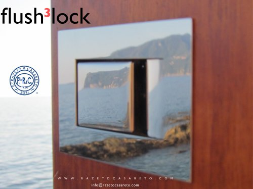 flush 3 lock cartolina