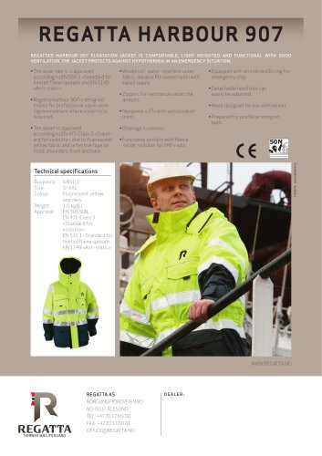 Flotation jackets - Harbour 907