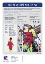 Flotation suits - Offshore 957