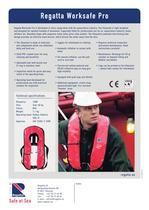 Inflatable lifejackets - Worksafe Pro - 1