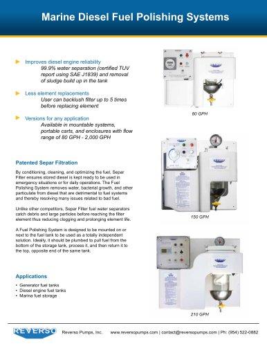 Marine Diesel Fuel Polishing Syst