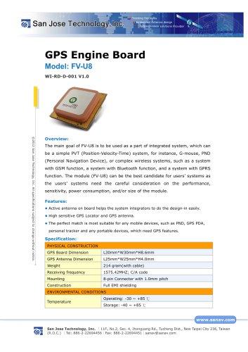 GPS Engine Board