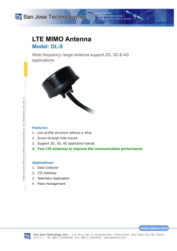 LTE MIMO Antenna