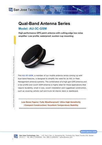 Qual-Band Antenna Series