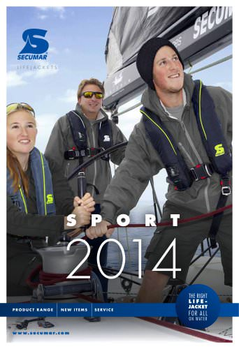 SECUMAR Catalogue Sport 2014