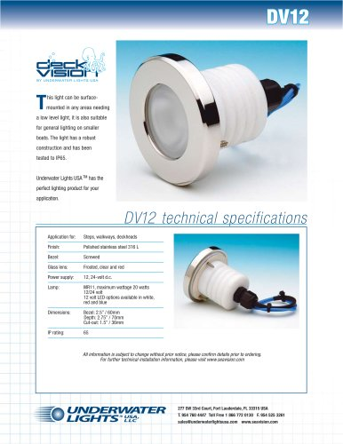 Deck Vision DV12 Deck Light