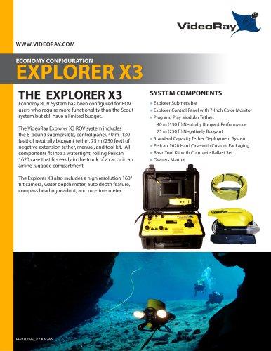 Explorer X3 ROV