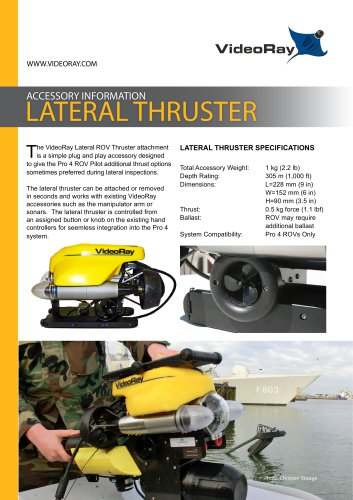 LATERAL THRUSTER