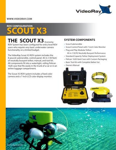 Scout X3 ROV