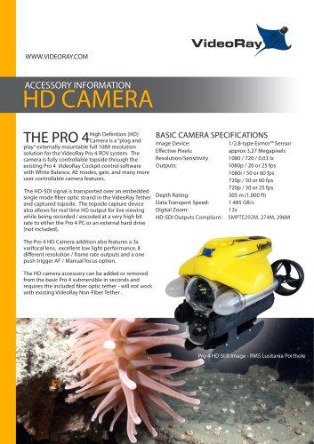 VideoRay HD Camera