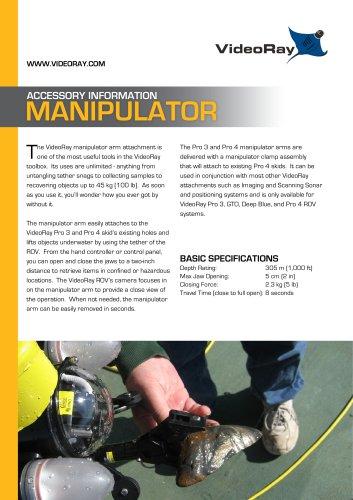 VideoRay Manipulator Arm