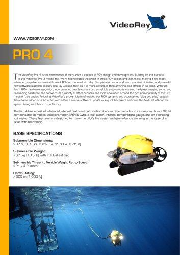 VideoRay Pro 4 ROVs