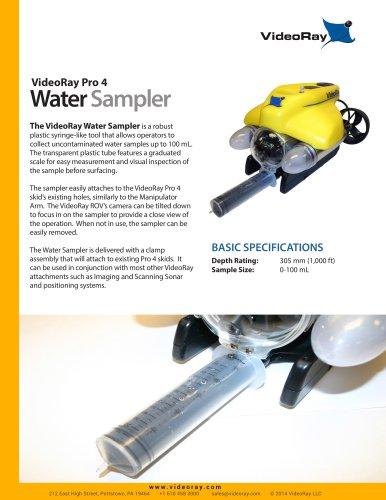 WATER SAMPLER