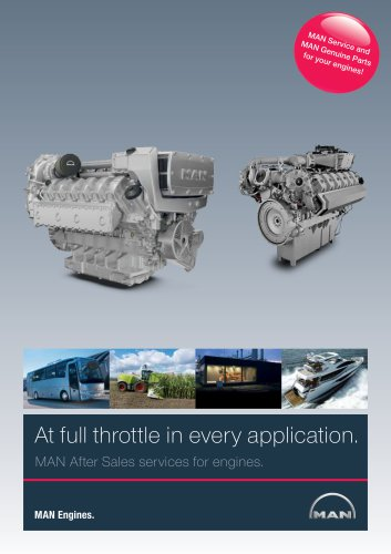 MAN Engines Aftersales Brochure