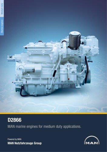 Marine engine D2866 - medium duty