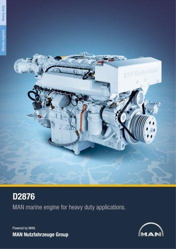 Marine engine D2876 - heavy duty