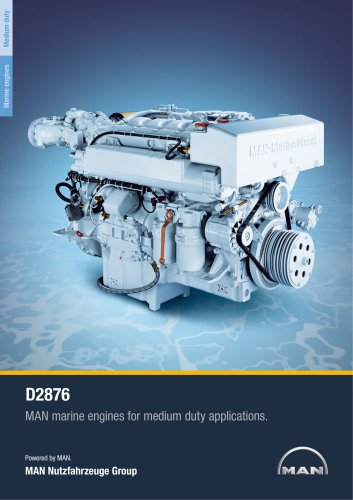 Marine engine D2876 - medium duty